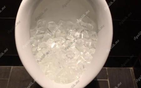 Лёд в писуарах