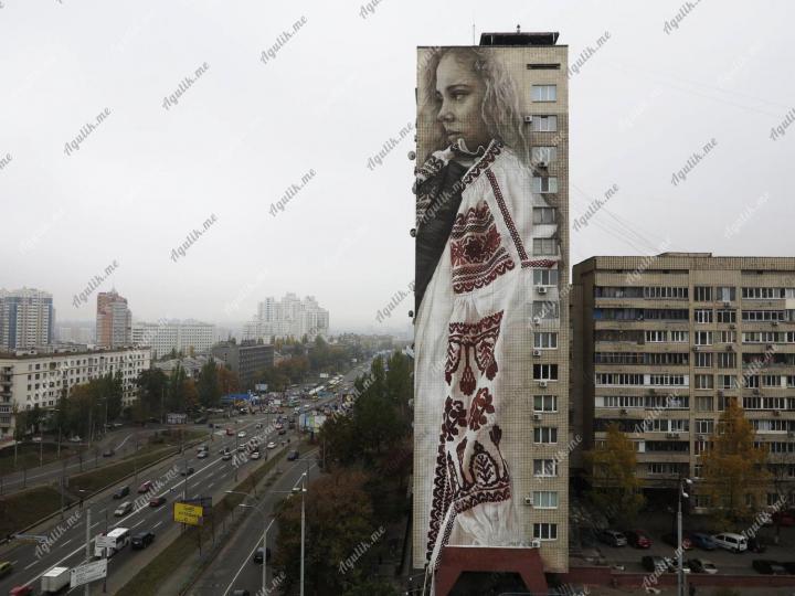 Граффити на домах