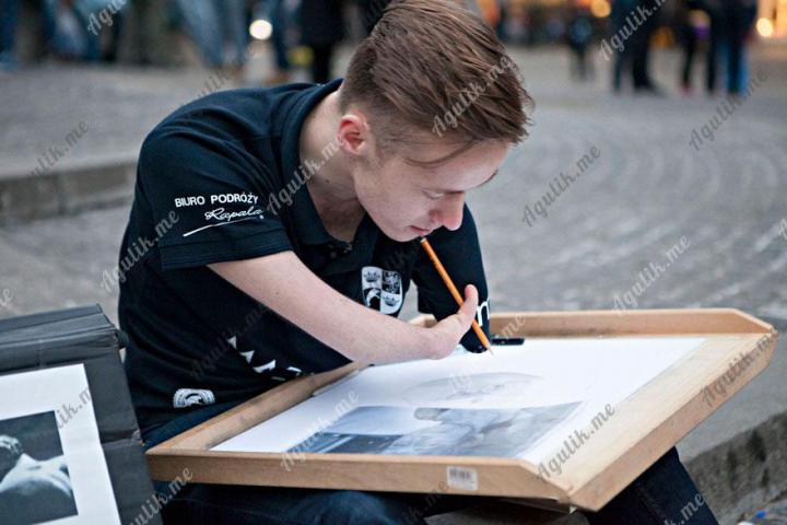 Художник без рук