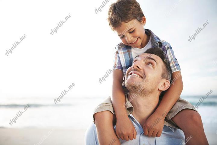 Папа и малыш