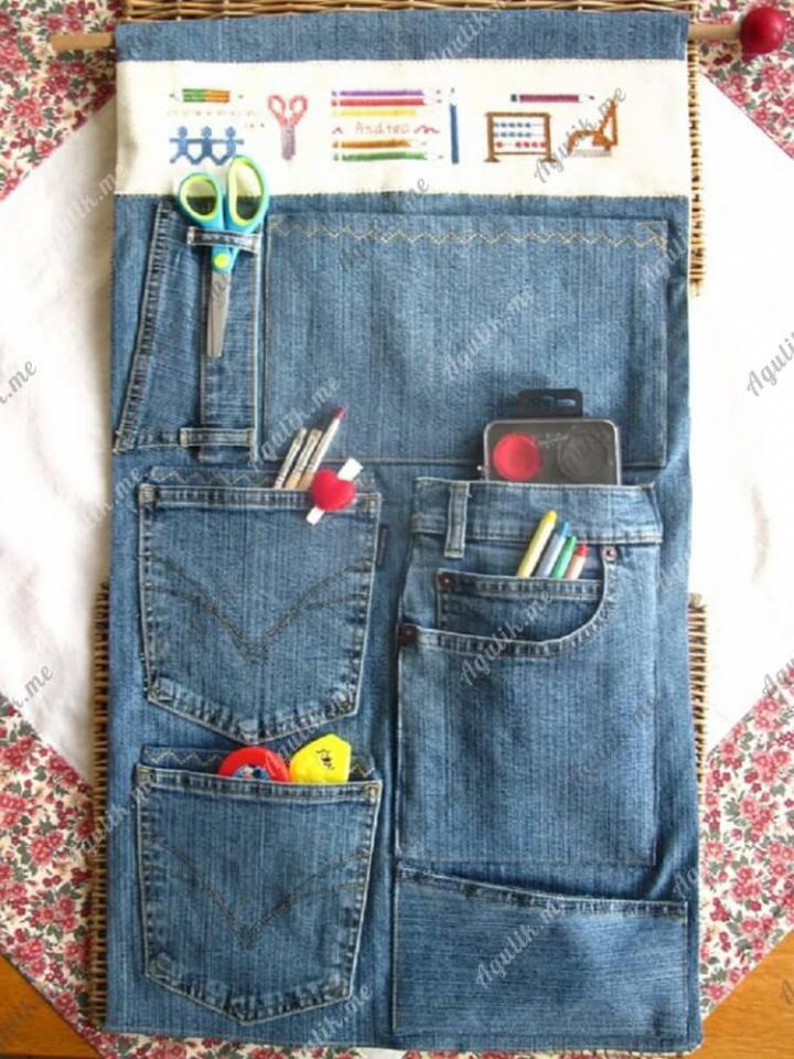 Из старых джинсов своими руками
